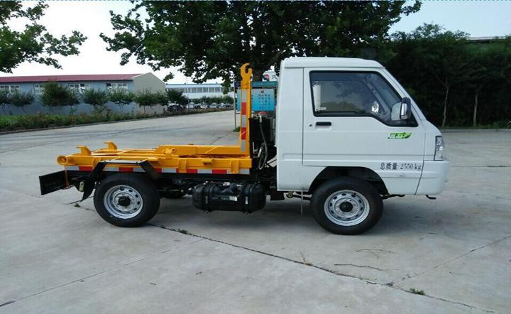 江淮2方车型车厢可卸式垃圾车QTH5033ZXX