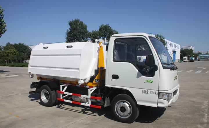 江淮3方车厢可卸式垃圾车QTH5042ZXX