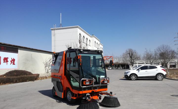 多功能扫路机QTH8501-2刷