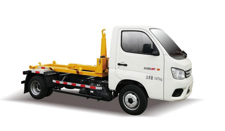 福田车厢可卸式垃圾车QTH5037ZXX