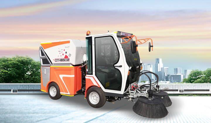 柴油动力多功能扫路机QTH8502