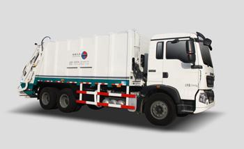 20方豪沃底盘压缩式垃圾车QTH5253ZYS