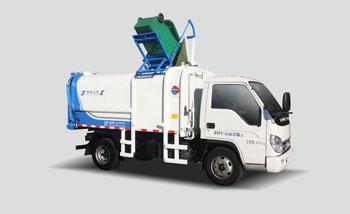 7方福田侧装挂桶垃圾车QTH5042ZZZ