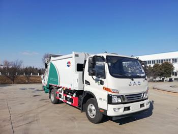 国六江淮压缩式垃圾车QTH5084ZYSA