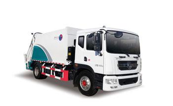 东风国六14方压缩式垃圾车QTH5182ZYS
