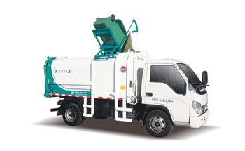 蓝牌侧装挂桶垃圾车QTH5045ZZZ