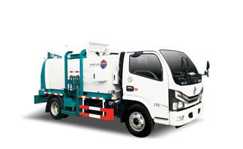 餐厨式垃圾车QTH5075TCA