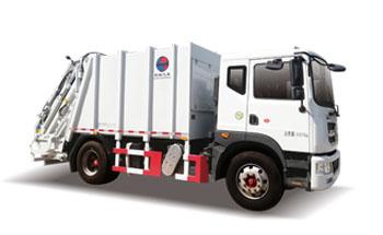 12方框架压缩式垃圾车QTH5168ZYSA