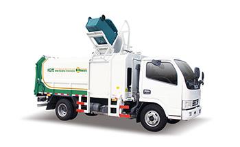 东风9方自装卸式垃圾车QTH5076ZZZA