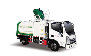 福田9方国六侧装挂桶式垃圾车QTH5078ZZZA