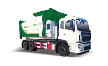 天龙国六勾臂式垃圾车QTH5253ZXX